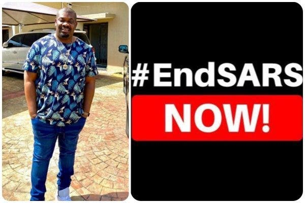 Don Jazzy reveals why he is not joining #EndSARS protests