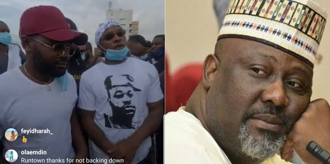 #EndSARS: Don't act like you are one of us – Falz blasts Dino Melaye