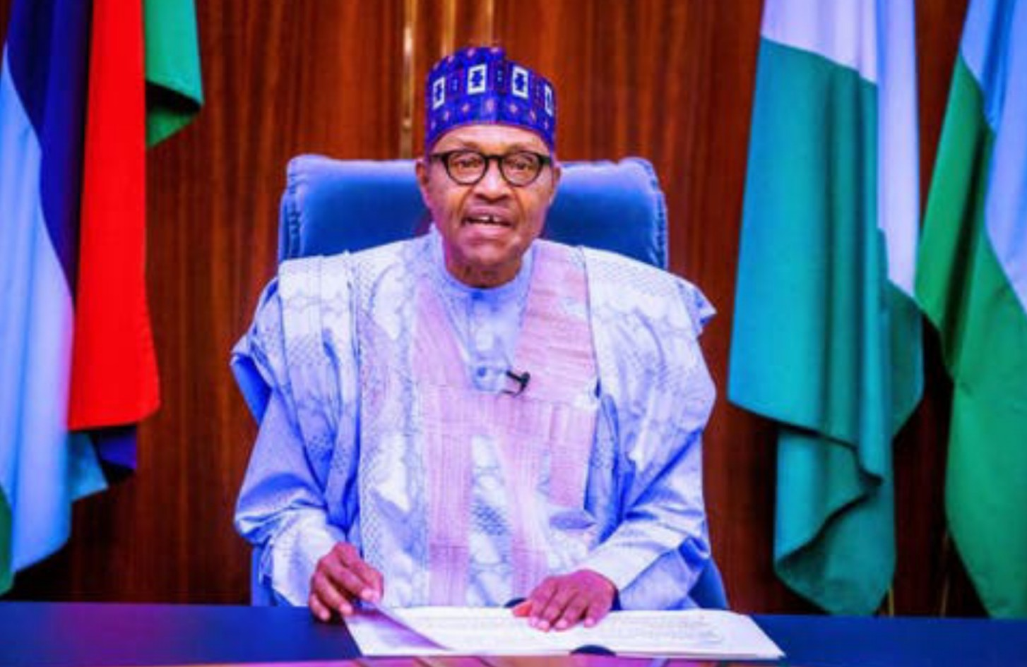 Buhari presides over National Security Council meeting amid unrest in the country