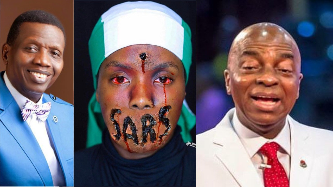 #EndSars : Nigerians attack Bishop Oyedepo and other men of God for not lending their voices