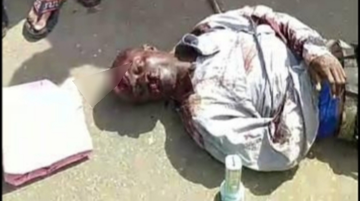 #EndSARS: Photos from the scene where armed men attacked protesters in Benin surface