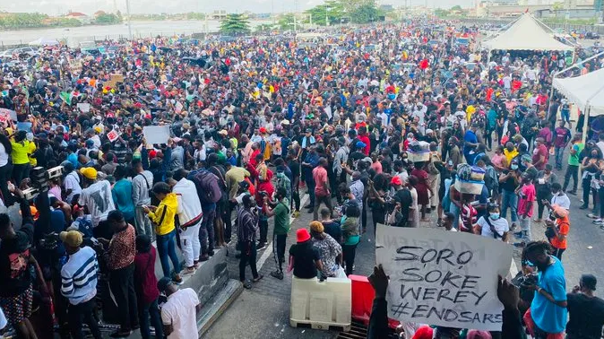 President Buhari reveals the number of persons killed in #EndSARS protests