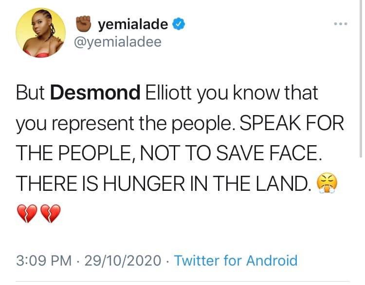 #EndSARS: You Are Cancelled – Nigerian Celebrities Call Out Desmond Elliot over his Insensitive Comment