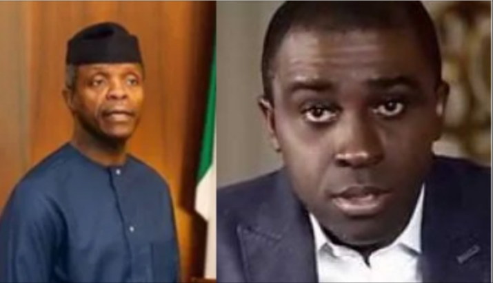 Frank Edoho To Yemi Osinbajo: You are a disappointment