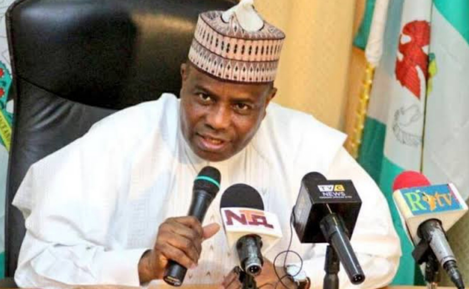 Palliatives distribution in Sokoto delayed at minister's request, says Tambuwal