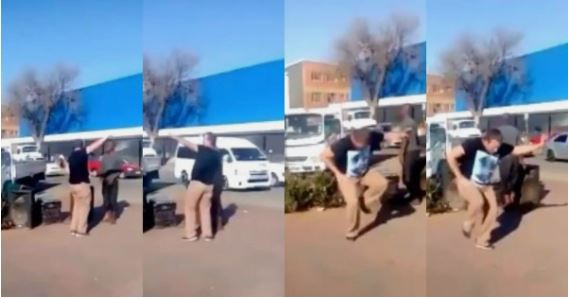 Watch: Video of a man dancing as he gives direction surfaces the internet