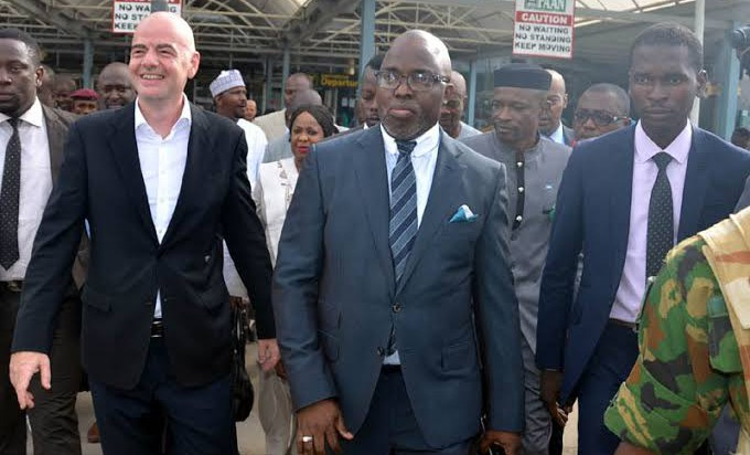 NFF receives $1m Covid-19 palliative from FIFA