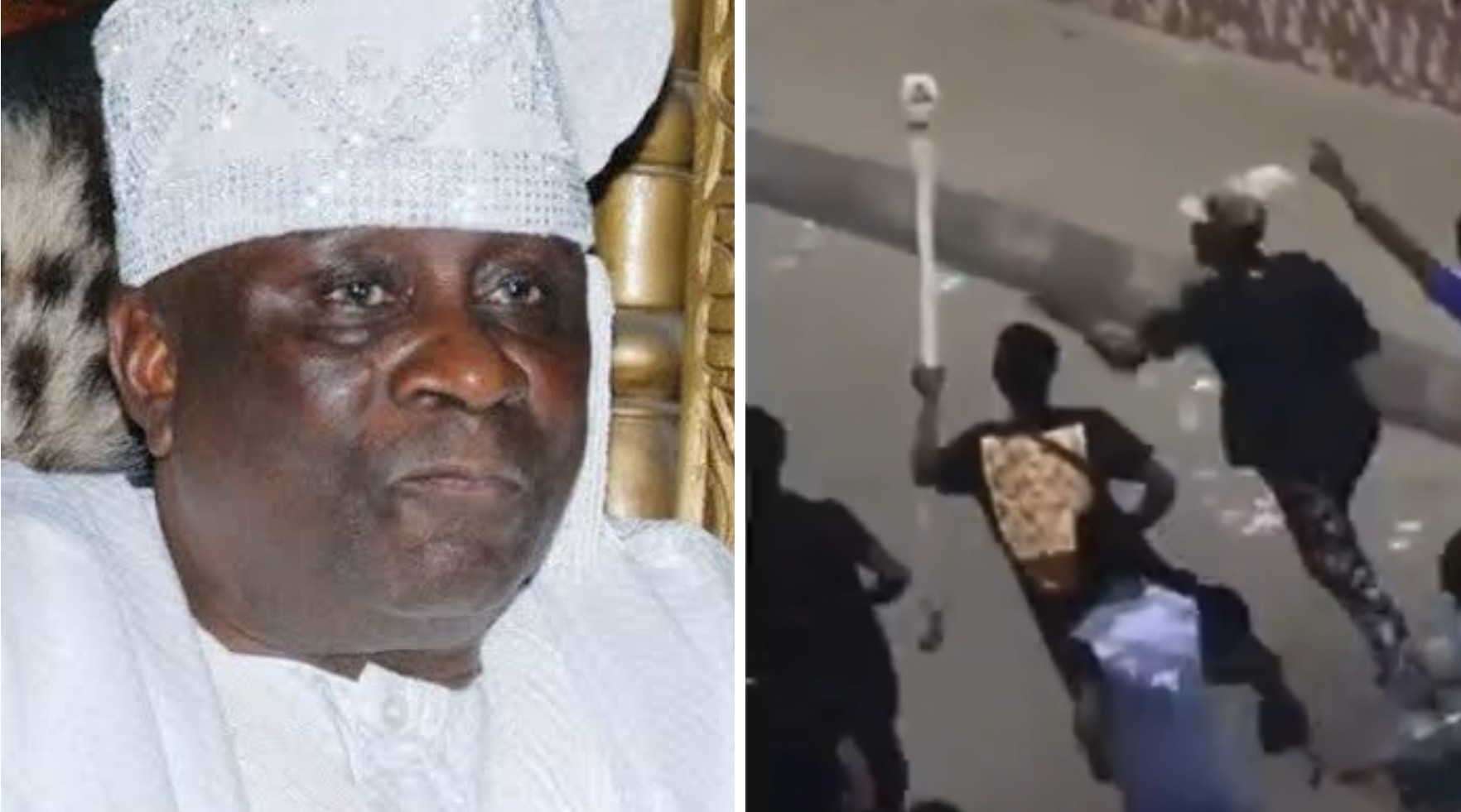 Oba of Lagos' staff of office reportedly returned (Video)