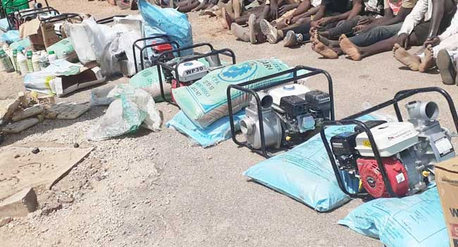 PHOTOS: Over 100 Suspected Looters Arrested In Plateau