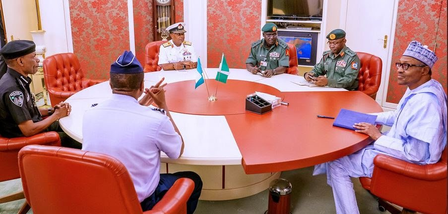 """""""Save the people"""" – Aisha sends powerful message to Buhari, Service Chiefs amid nationwide protests"""