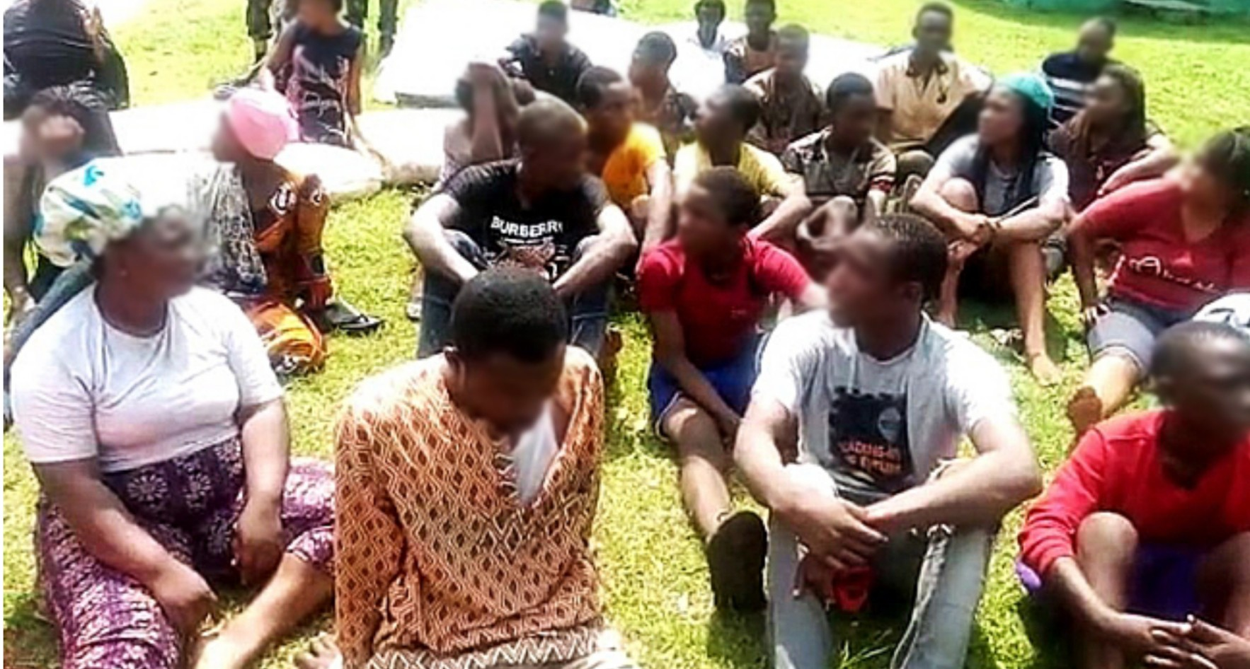 Security operatives arrest suspects for looting Abuja NYSC Camp