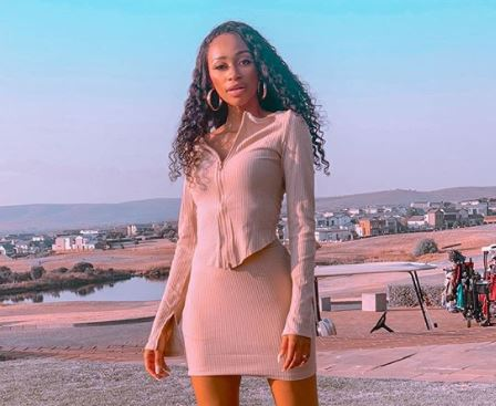 Photos: Thabsie shows off glowing skin in new post
