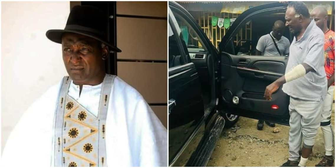 They destroyed my car and slashed my hand with a machete – Actor Clem Ohameze recounts how he was attacked