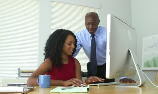How to be in a relationship with a co-worker