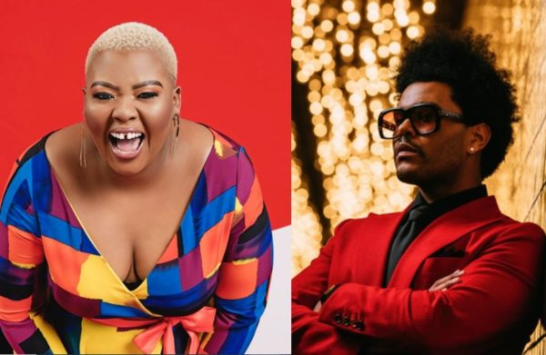 Anele Mdoda calls out The Weekend over GRAMMY snub