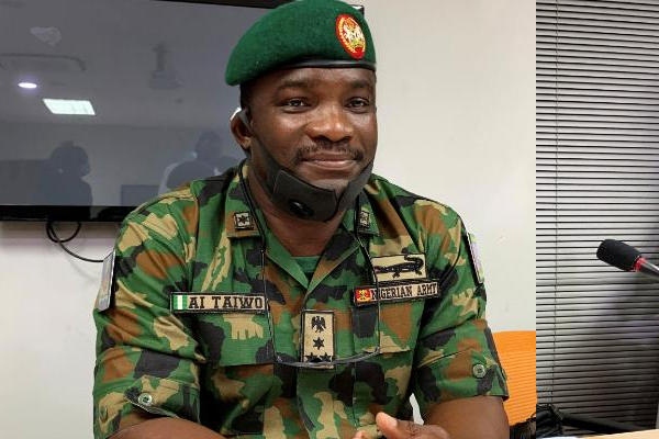 Ibrahim Taiwo, officer representing army at Lagos judicial panel, promoted to major-general