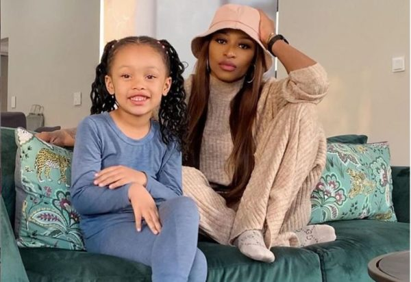 Kairo Forbes in-love with her mom, DJ Zinhle's latest song – Watch