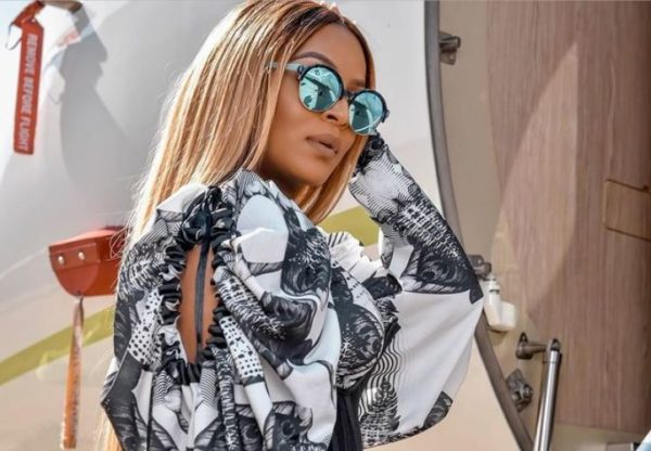 Jessica Nkosi announces arrival of her new car