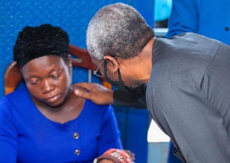 Widow of vendor killed by Gbajabiamila's aide disowns family for demanding N500m compensation
