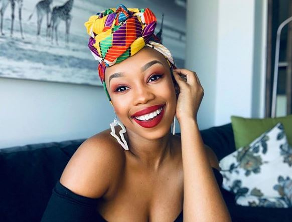 Candice Modiselle clears fans she has no Facebook account