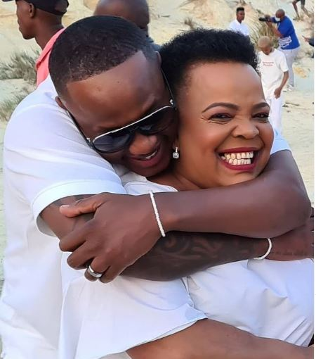 Jub Jub and Rebecca Malope giving us friendship goals