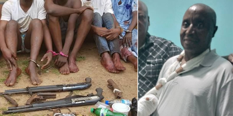 Edo Cult War: ACP who was rumored dead, surfaces alive with arm support (photo)