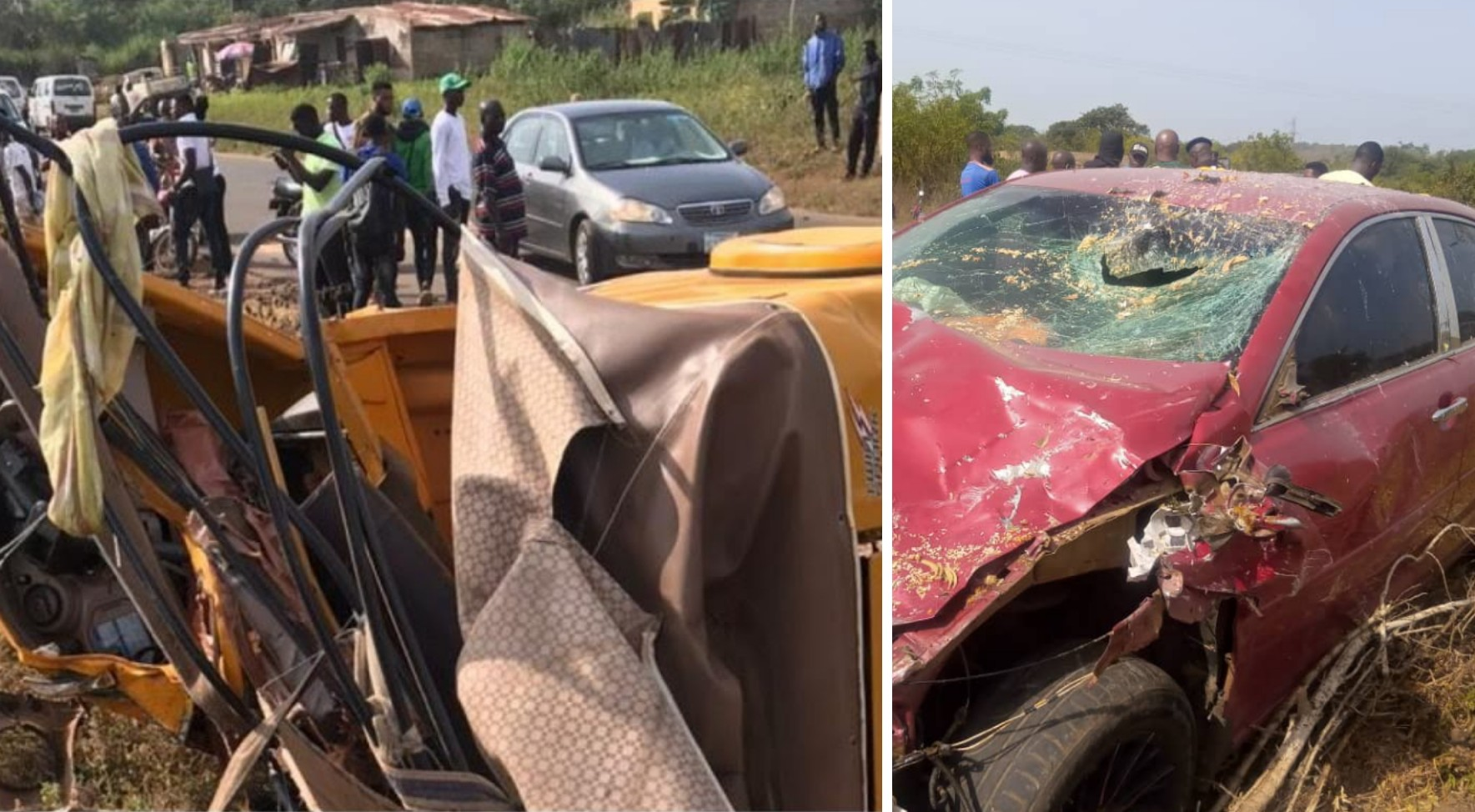 Four dead, two Students injured in Offa auto accident