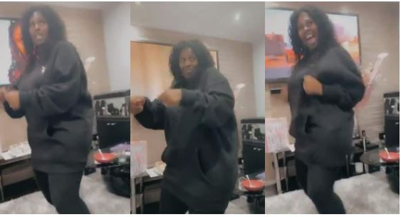 """53-Year-old Mzansi mom shows off her """"mad"""" dance step"""