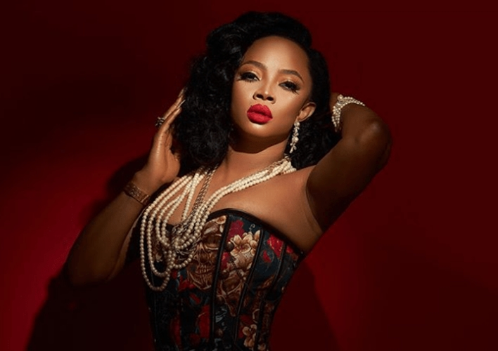 Media personality Toke Makinwa opens up about her struggle to conceive