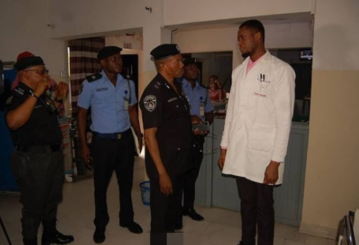 Policemen arrested for allegedly opening fire on innocent women in Bayelsa after being stuck in Traffic