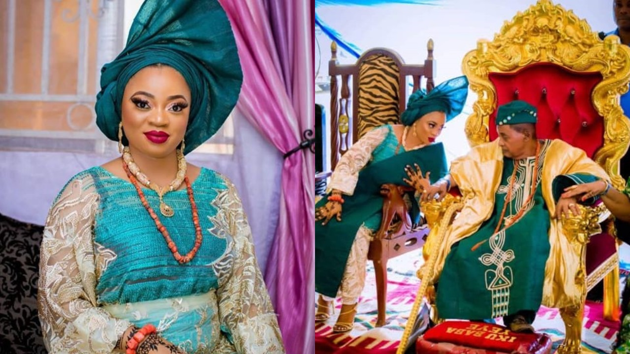 """""""My Life Is Being Threatened"""" – Alaafin of Oyo's Estranged Wife, Queen Aanu Cries Out"""