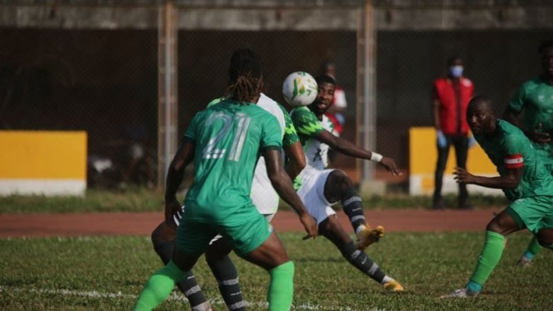 Sierra Leone hold Eagles to goalless draw in Freetown