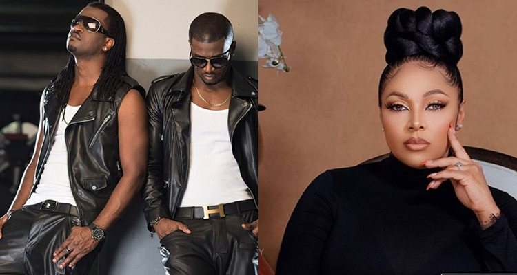 """""""Whether you like it or not, you're brothers, Lola Omotayo tells Peter and Paul on their birthday"""