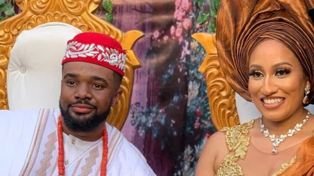 Williams Uchemba's wife narrates how she sent him a message on Facebook after watching his video
