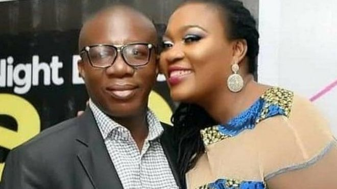 """""""This is a rude shock. You died in my hands""""- Chico Ejiro's wife, Joy, recounts his last moments"""