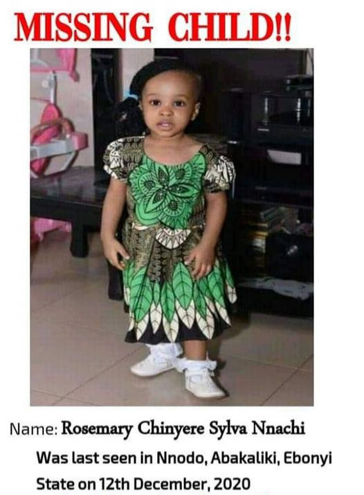 Body of a child found floating in Ebonyi river 48 hours after she went missing