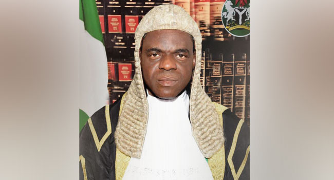 Justice Tsoho reveals how freezing of EndSARS protesters' bank accounts saved the economy