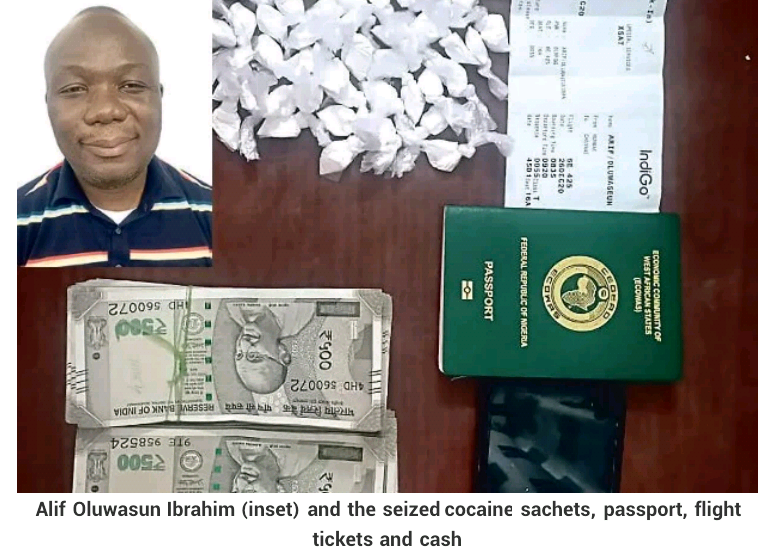Police arrest 46-year-old Nigerian man for cocaine possession in India
