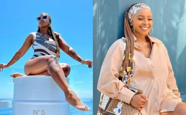 Hot! Boity finally shares full bikini snaps upon fans request