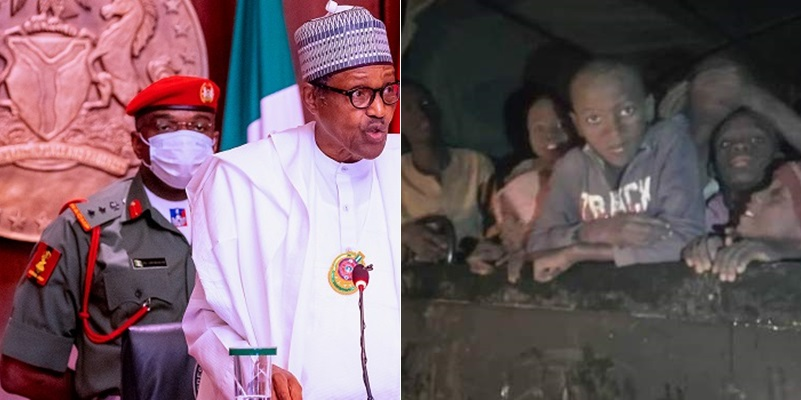 """""""Nigerian Armed Forces Know Their Job"""" – Buhari Reacts To Release Of Kankara Students"""