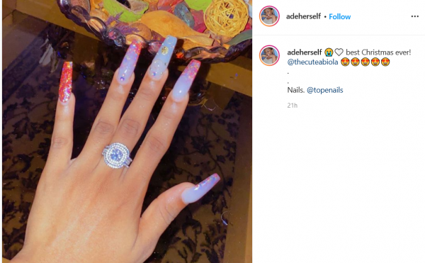Comedian Cute Abiola And Influencer, AdeHerself Reportedly Engaged
