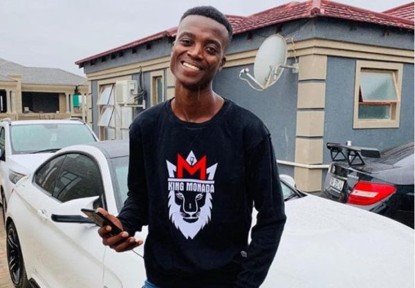 King Monada flaunts wife's photo as they celebrate 9th year anniversary