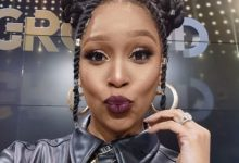 Minnie Dlamini rocks late brother's cloth in remembrance of him – Photo