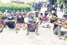Lagos Police parade 103 for violating COVID-19 rules, robbery, arson