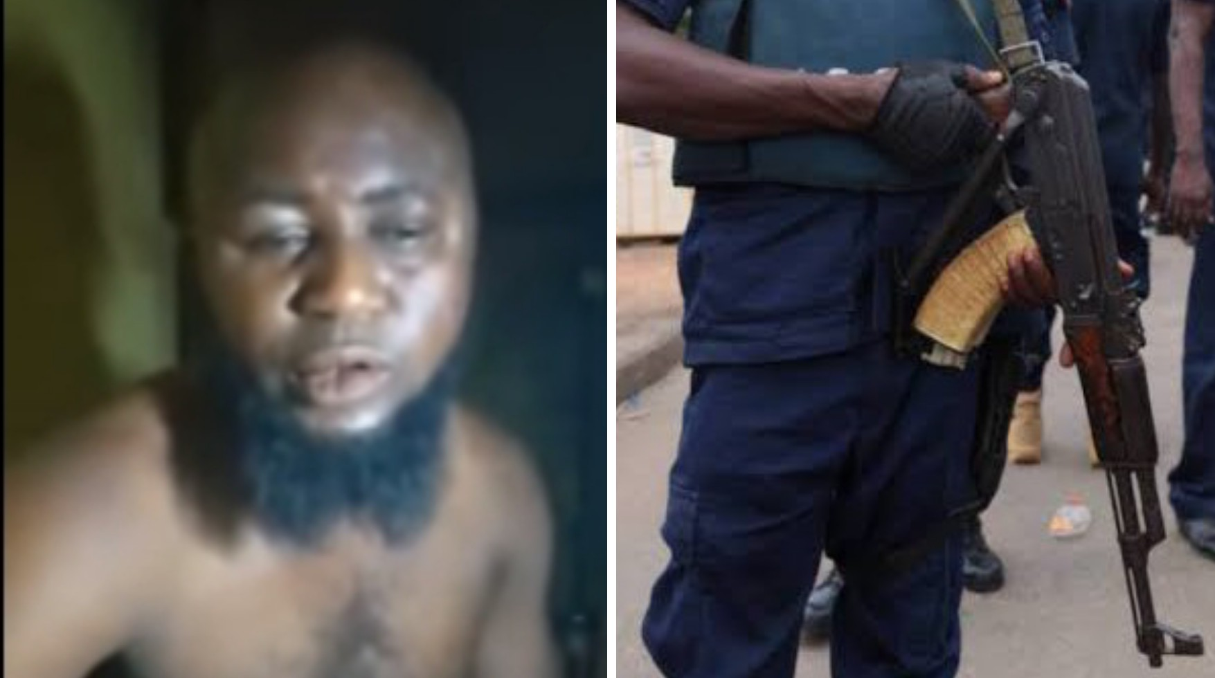 I was only warming the air – NSCDC personnel accused of shooting two dead in Benue says (VIDEO)