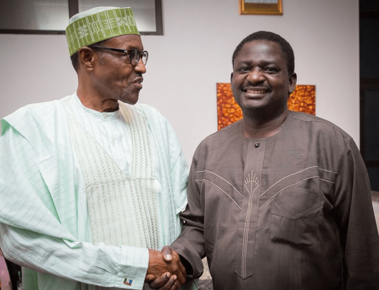 President Buhari Is Not Stingy, He Gave Me Envelope With Foreign Currency – Femi Adesina Reveals