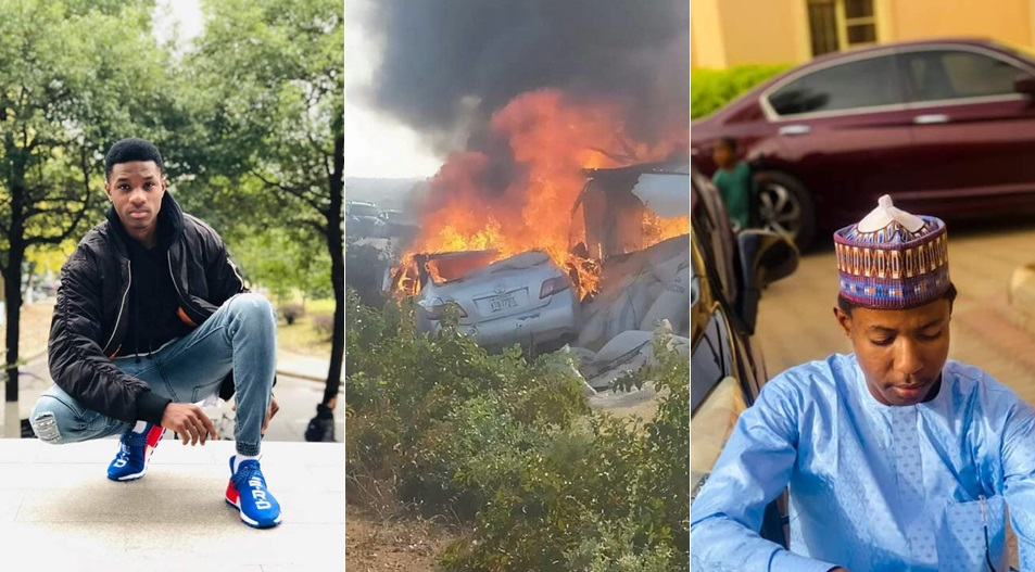 Fresh Graduate Preparing For NYSC And His Friend Burnt To Death In Ghastly Accident In Katsina (Photos)