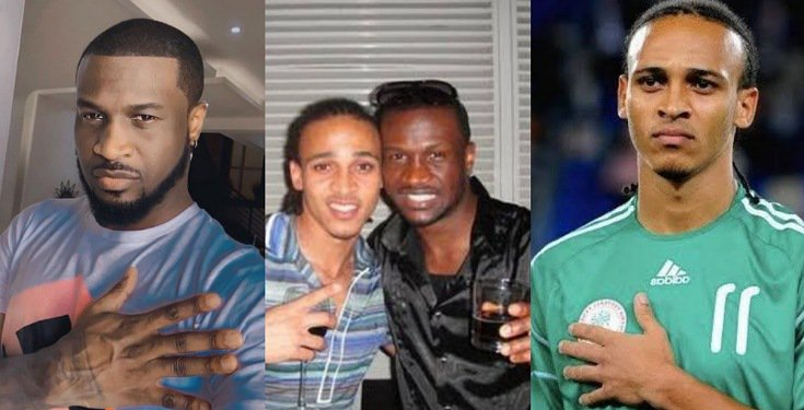 Peter Okoye Fires Back At Odemwingie After He Called Him 'Fraud'