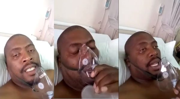 Man battling with COVID-19 dies a day after warning people (Video)