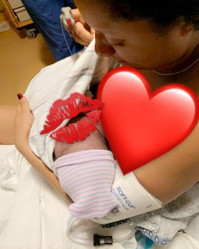 BBNaija's Gifty Powers welcomes second child, a baby boy (Photos)